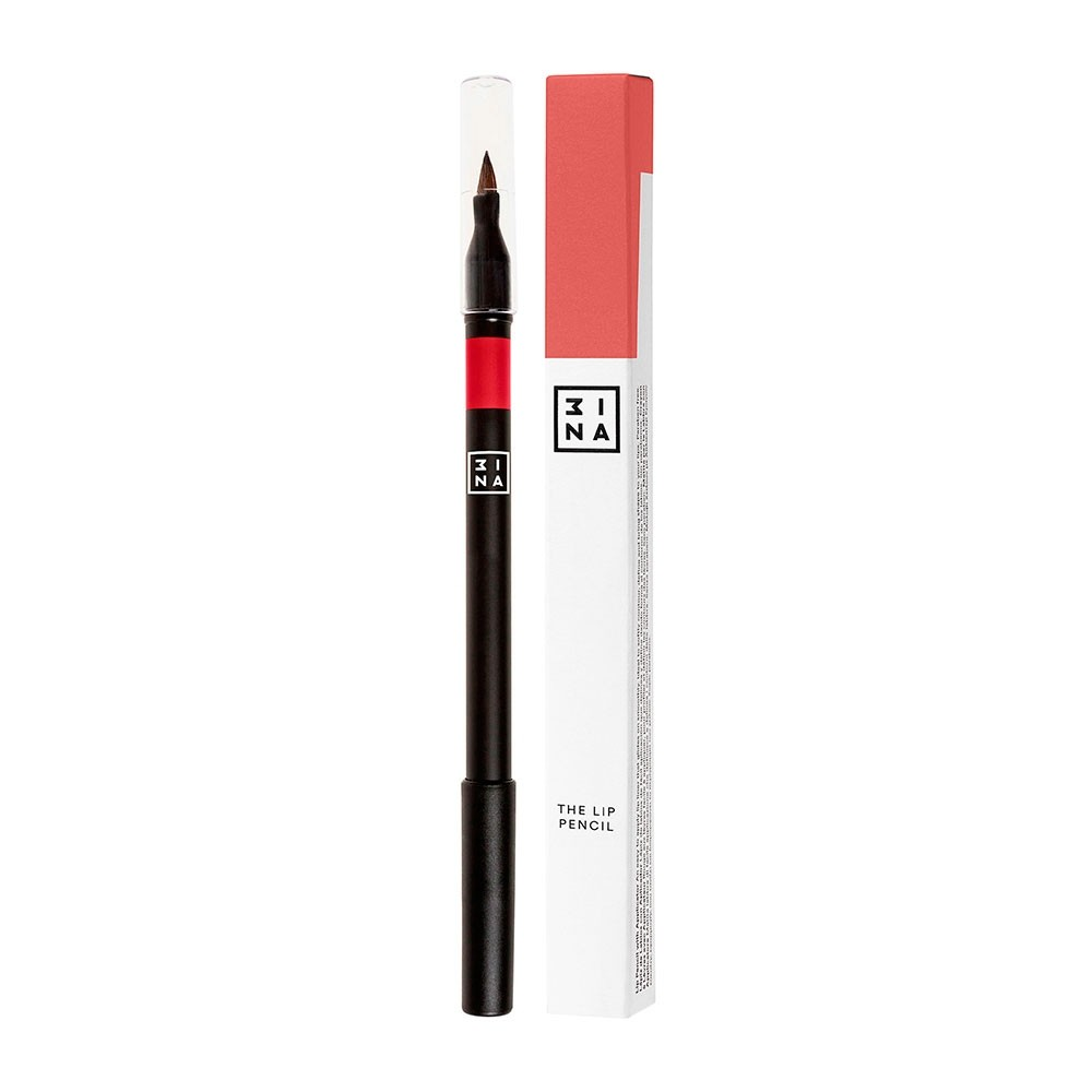 3INA Makeup   The Lip Pencil with Applicator 506 Red