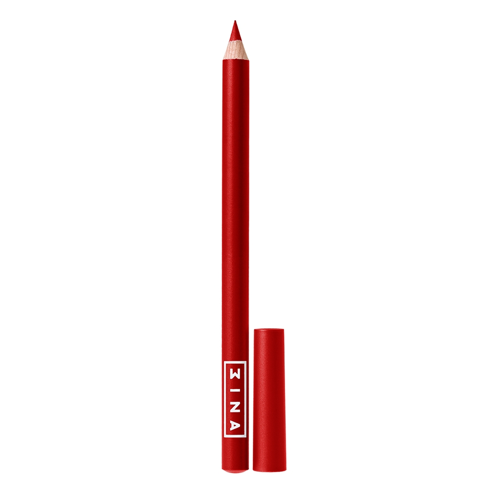 3INA Makeup | The Essential Lip Pencil 402 Red | Vegan