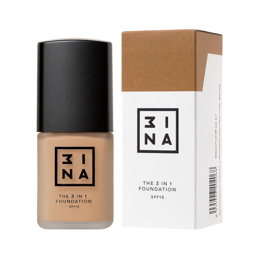 3INA Makeup | The 3in1 Foundation 214 Nude | Vegan