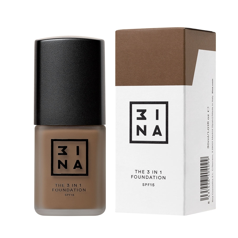 3INA Makeup | The 3in1 Foundation 217 Nude | Vegan