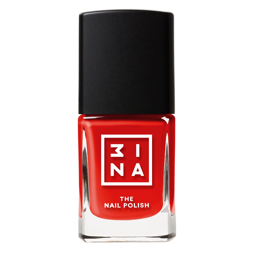 3INA Makeup | The Nail Polish 124 Red | Vegan