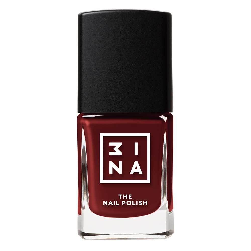 3INA Makeup | The Nail Polish 141 Red | Vegan