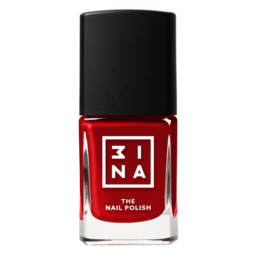 3INA Makeup | The Nail Polish 144 Red | Vegan
