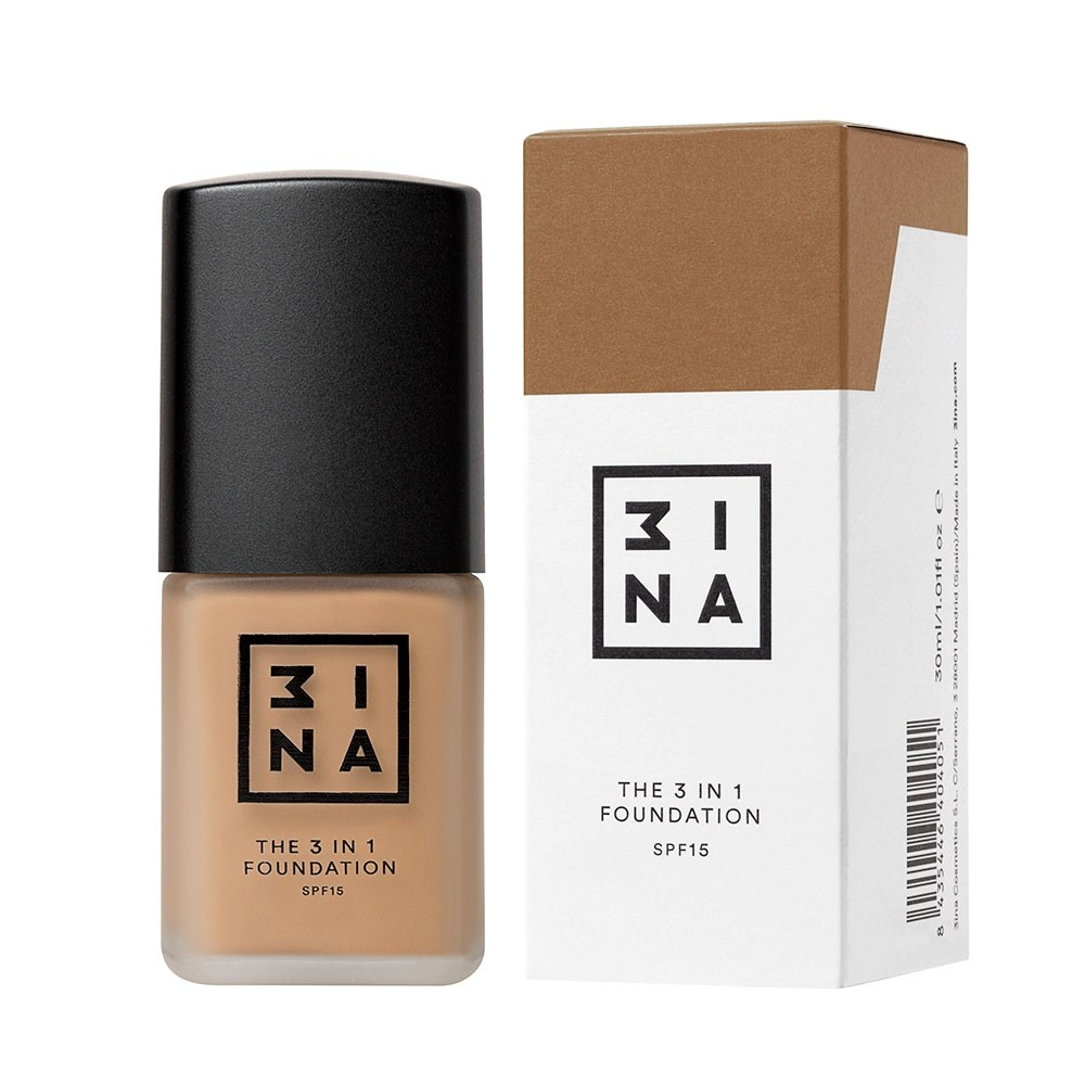 3INA Makeup | The 3in1 Foundation 213 Nude | Vegan